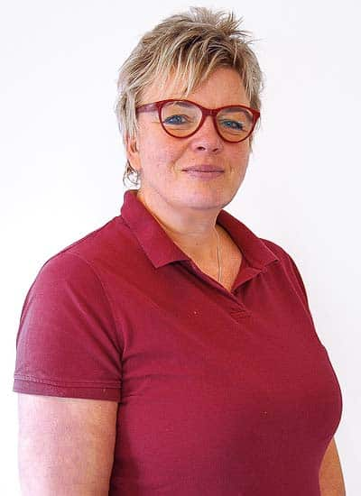 Tierärztin Sandra Benz